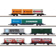82665 Container Transport Car Set