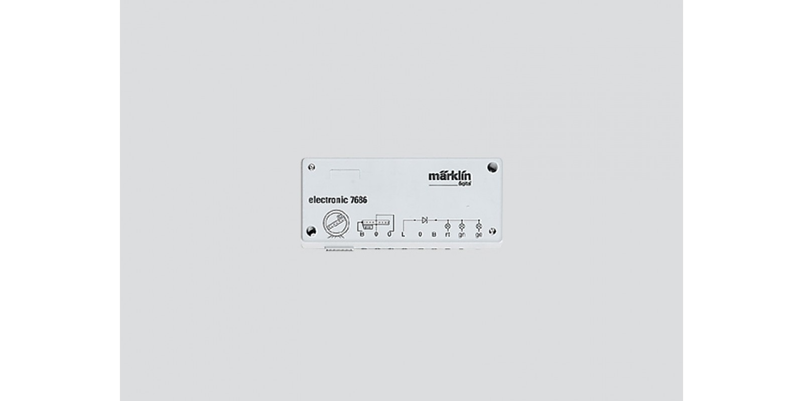 7687 Digital Retrofit Set for the 7286 Turntable