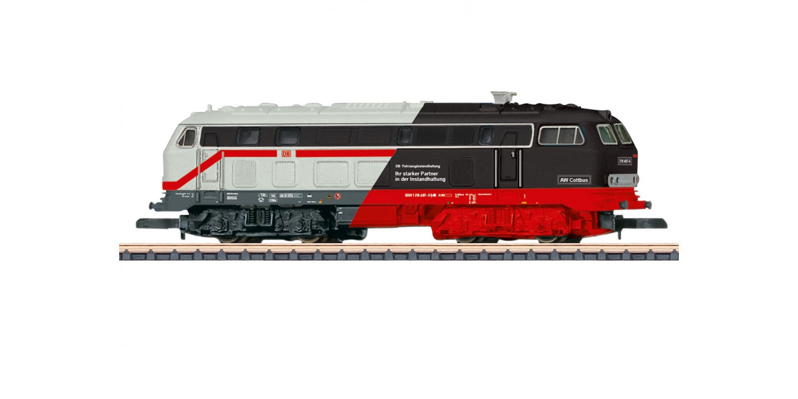 88807 Class 218 Diesel Locomotive