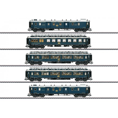 "42790 - ""Simplon Orient Express"" Express Train Passenger Car Set 1"