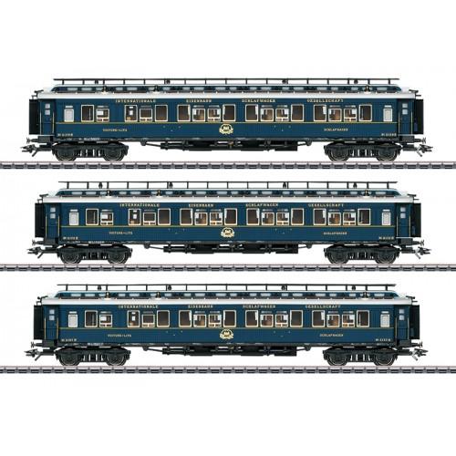 """42791 - """"Simplon Orient Express"""" Express Train Passenger Car Set 2"""