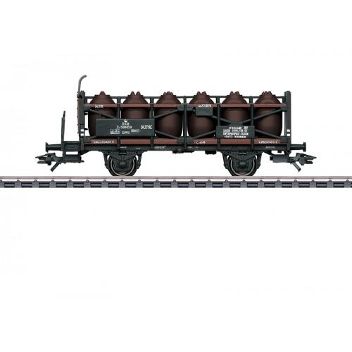 46393 - Acid Transport Car with a Brakeman's Platform