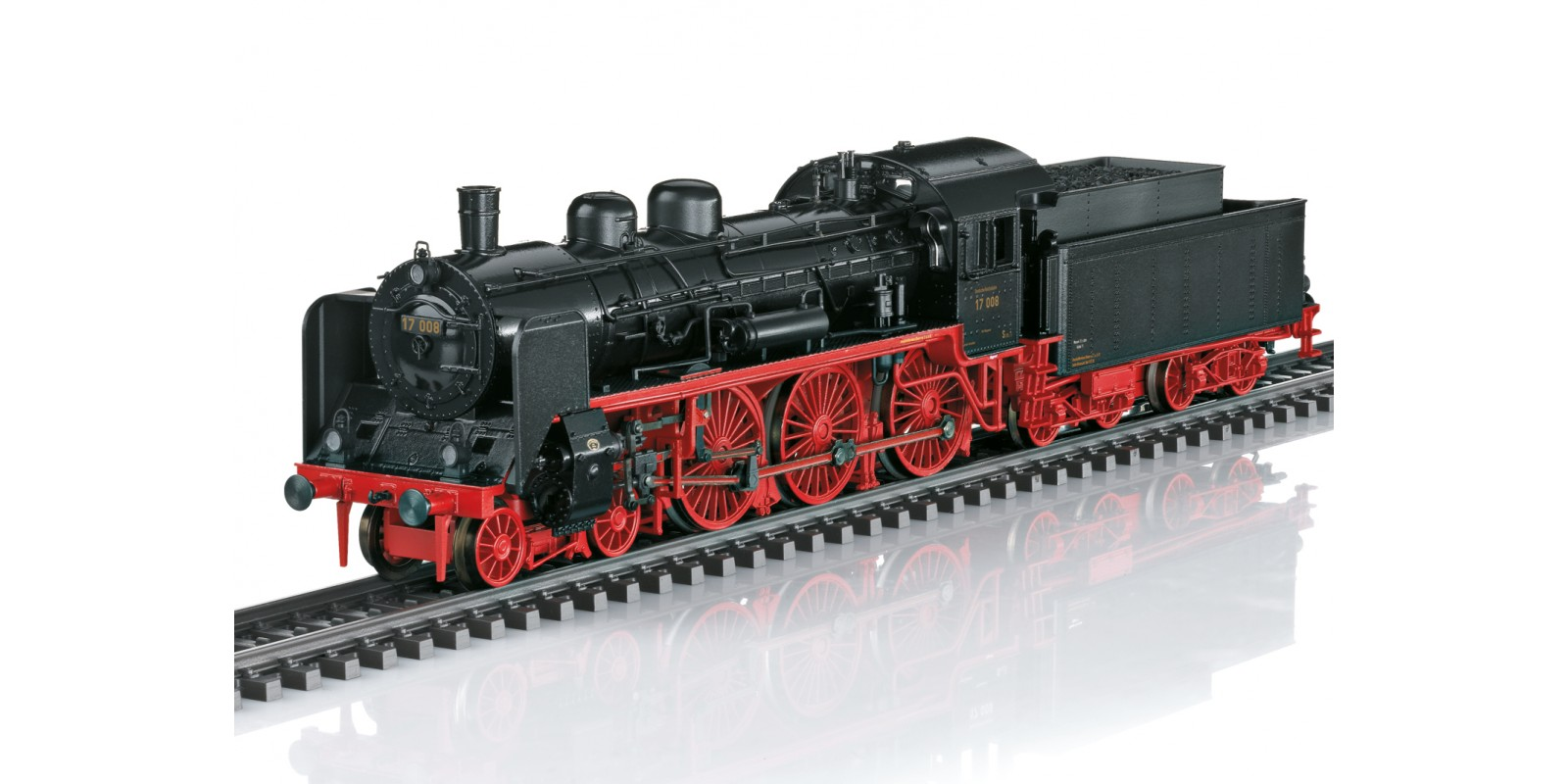 037197 Class 17 Steam Locomotive