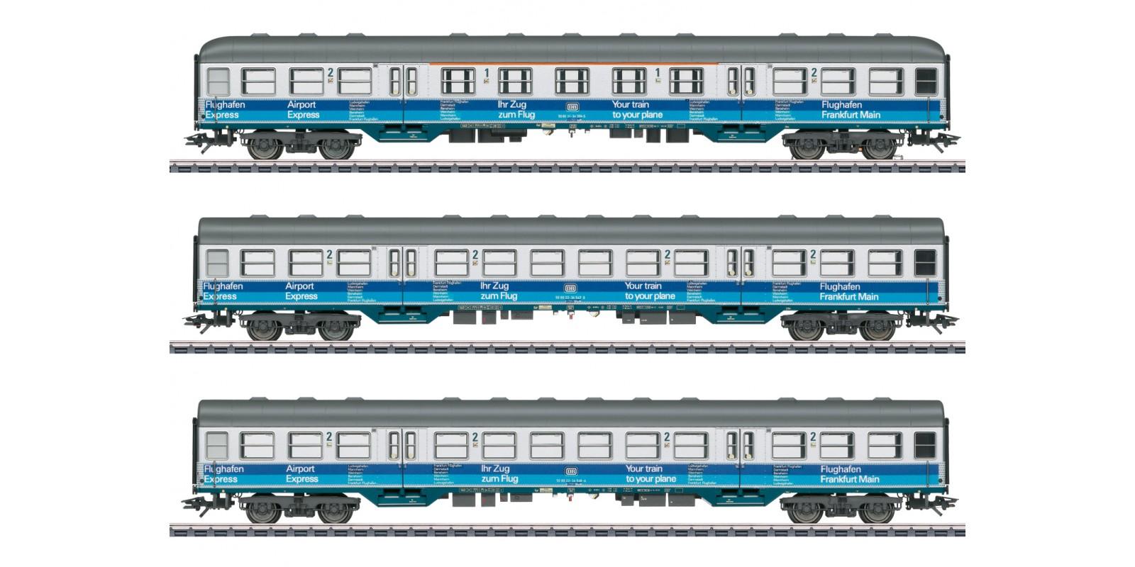043815 Airport Express Passenger Car Set