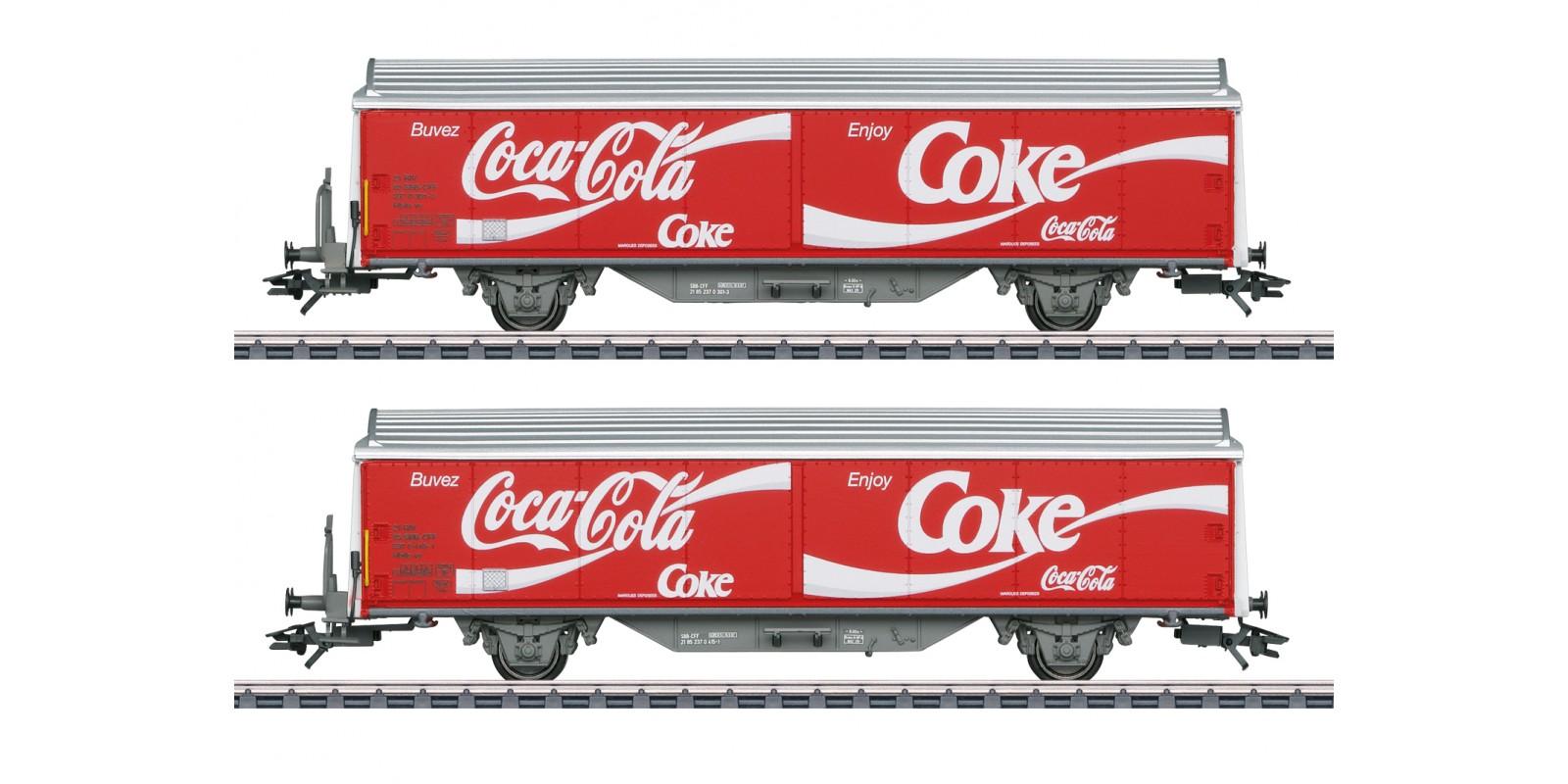 048344 Type Hbils-vy Sliding Wall Boxcar Set