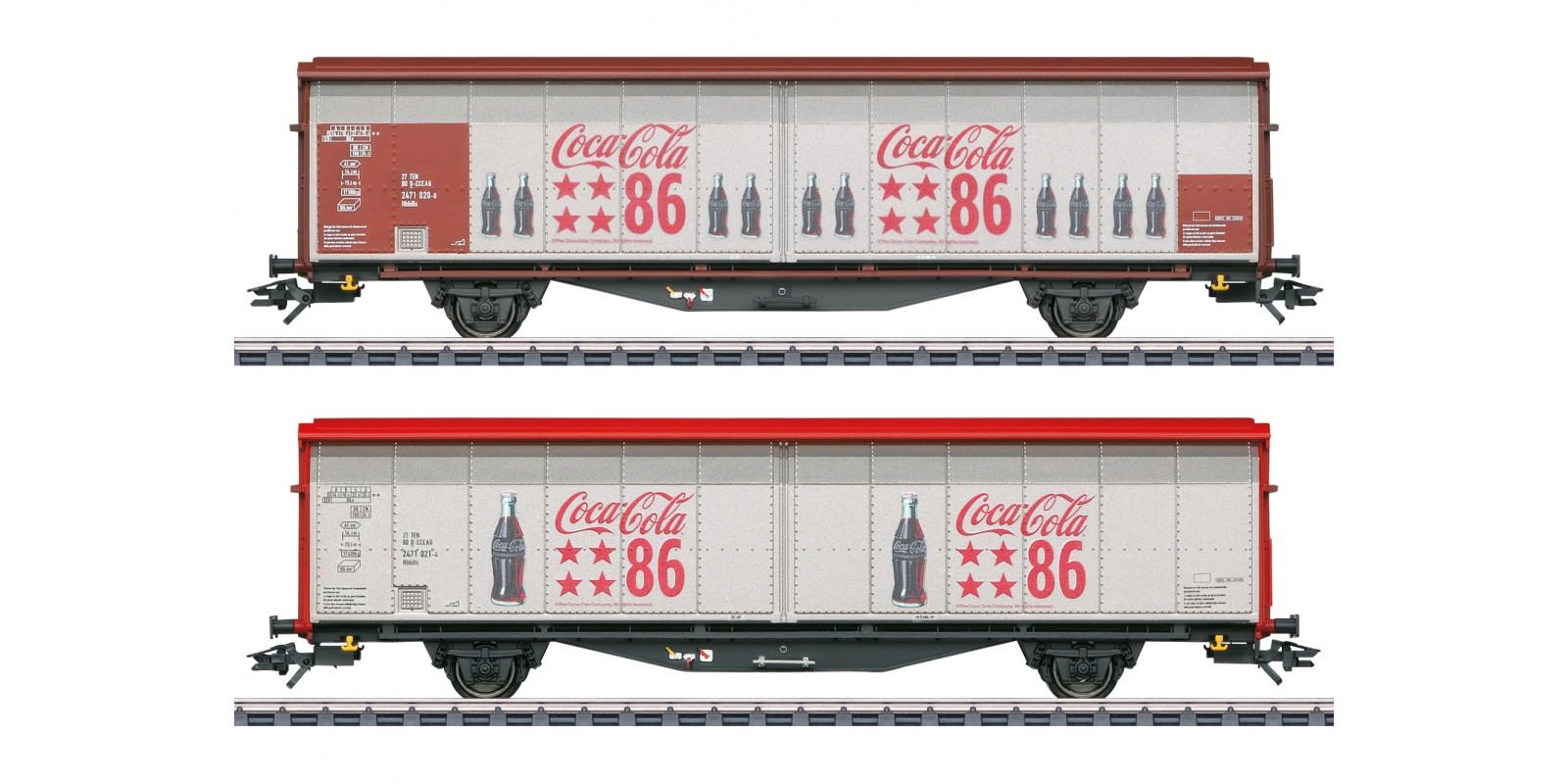 048345 Type Hbbills Sliding Wall Boxcar Set