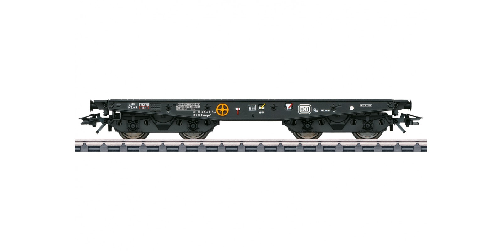 048757 Type Rlmmps 650 Heavy-Duty Flat Car