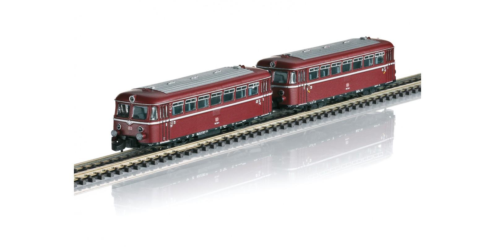 088168 Rail Bus with Trailer Car