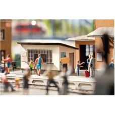 No14310 Platform Kiosk, 5,6 x 4,4 cm, 3,4 cm high