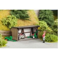 No14351 Small Shelter, 5,0 x 3,2 cm 2,6 cm high