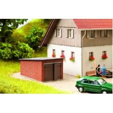No14352 Garage, laser-cut, 6,9x4,0x3,0 cm