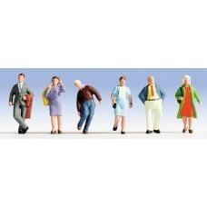 No15225 Travellers, 6 figures