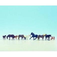 No15761 Horses, 9 animals
