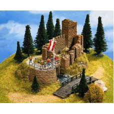 No58602 Castle Ruin, Scale HO + TT, 16 x 13 x 10 cm