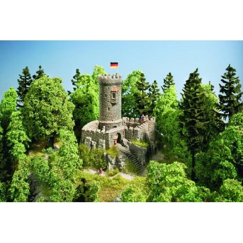 "No58603 Castle ""Hohenstein"", 19,5 x 19,5 x 22,5 cm"