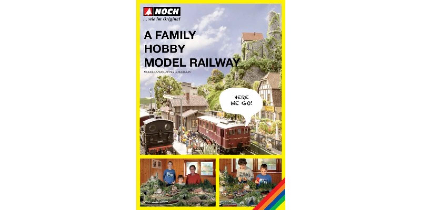 "NO71905 Guidebook ""A Family Hobby - Model Railway"""