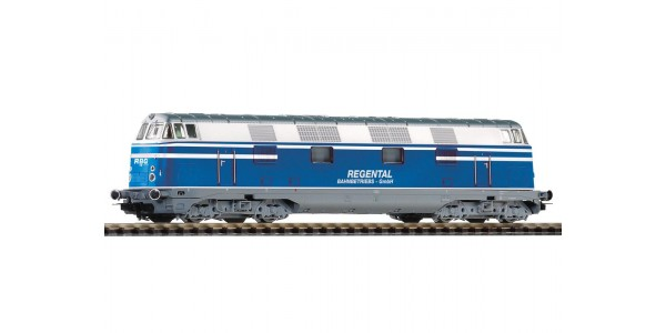 PI59367 Diesel Locomotive class 118 Regentalbahn V, Blue, AC (for Marklin)