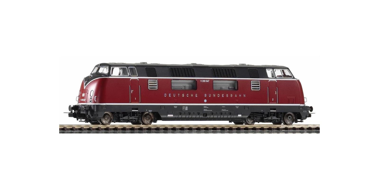 PI59701 Diesel Locomotive V 200.0 DB III, AC(for Marklin)