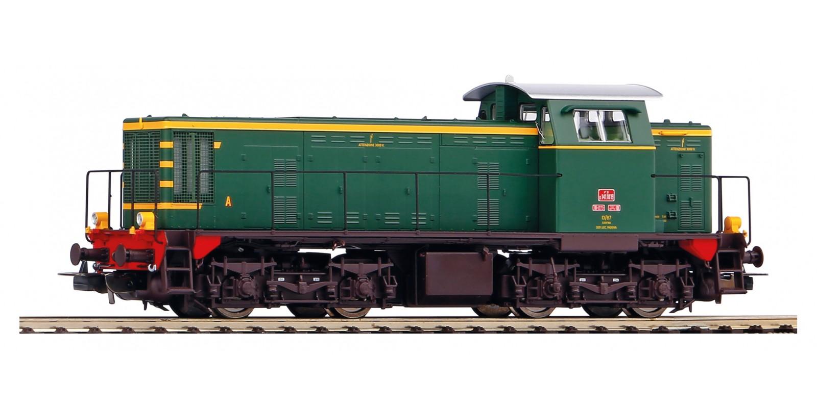 PI52443 Gauge H0 Diesel locomotive D.141 FS of epoch IV with sound, AC
