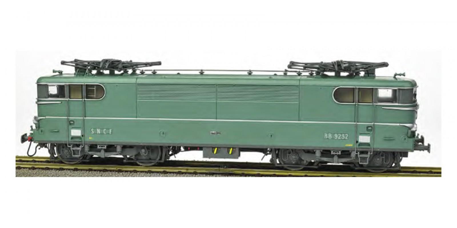 REMB083SAC BB 9232 Green, Paris-SO without Skirt, Red Ligth Era IV-V - AC Sound Functional Pantos