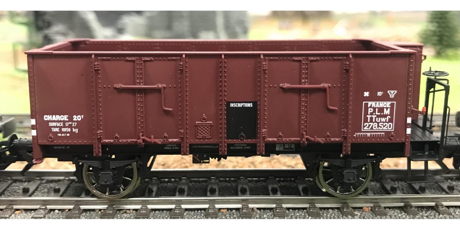 REWB478 Wagon TOMBEREAU OCEM 29 Ep. II - PLM