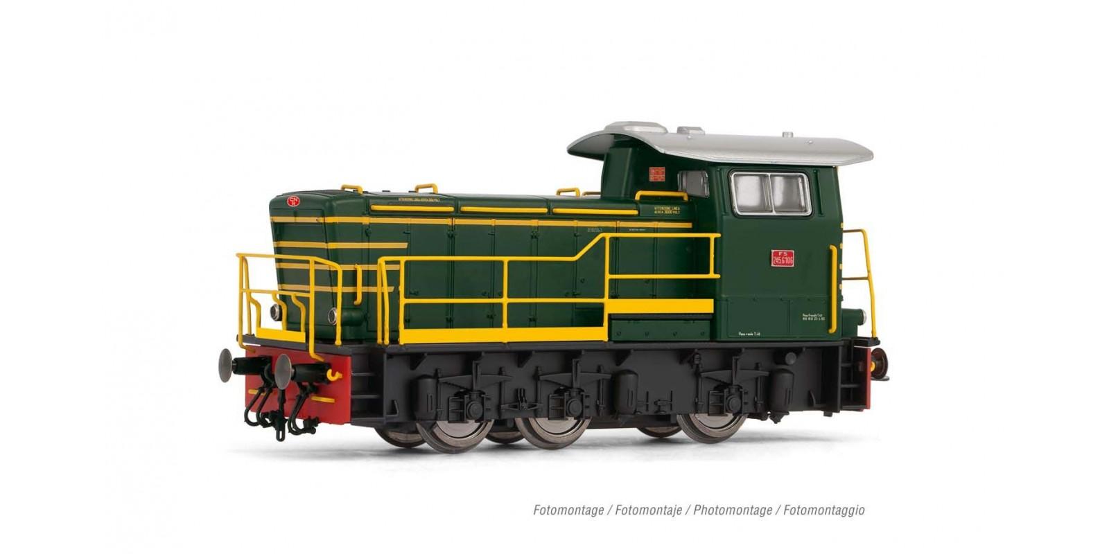RI2793 FS, 245 green with modern handrails, ep. V