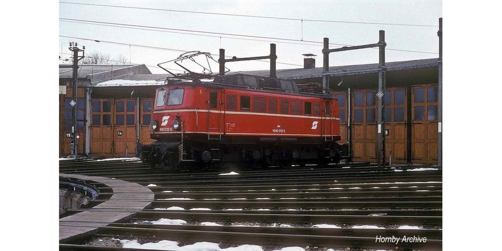 RI2821ACS ÖBB, electric locomotive class 1040, vermillion livery, new logo and markings, period IV-V, with AC Sound Decoder