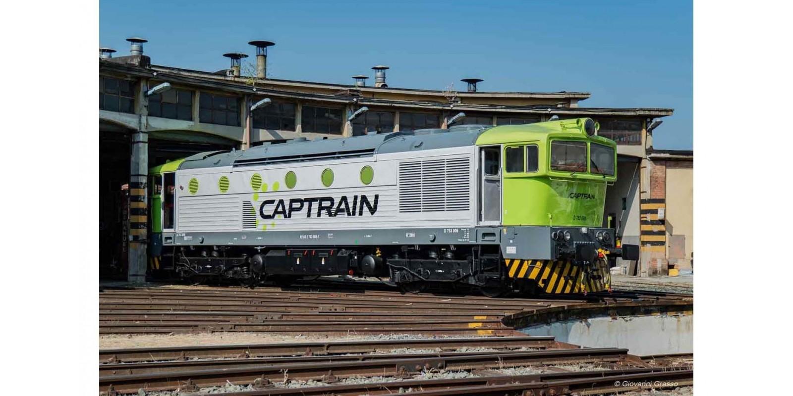 RI2844S Captrain Italia, D.753, with DCC sound decoder