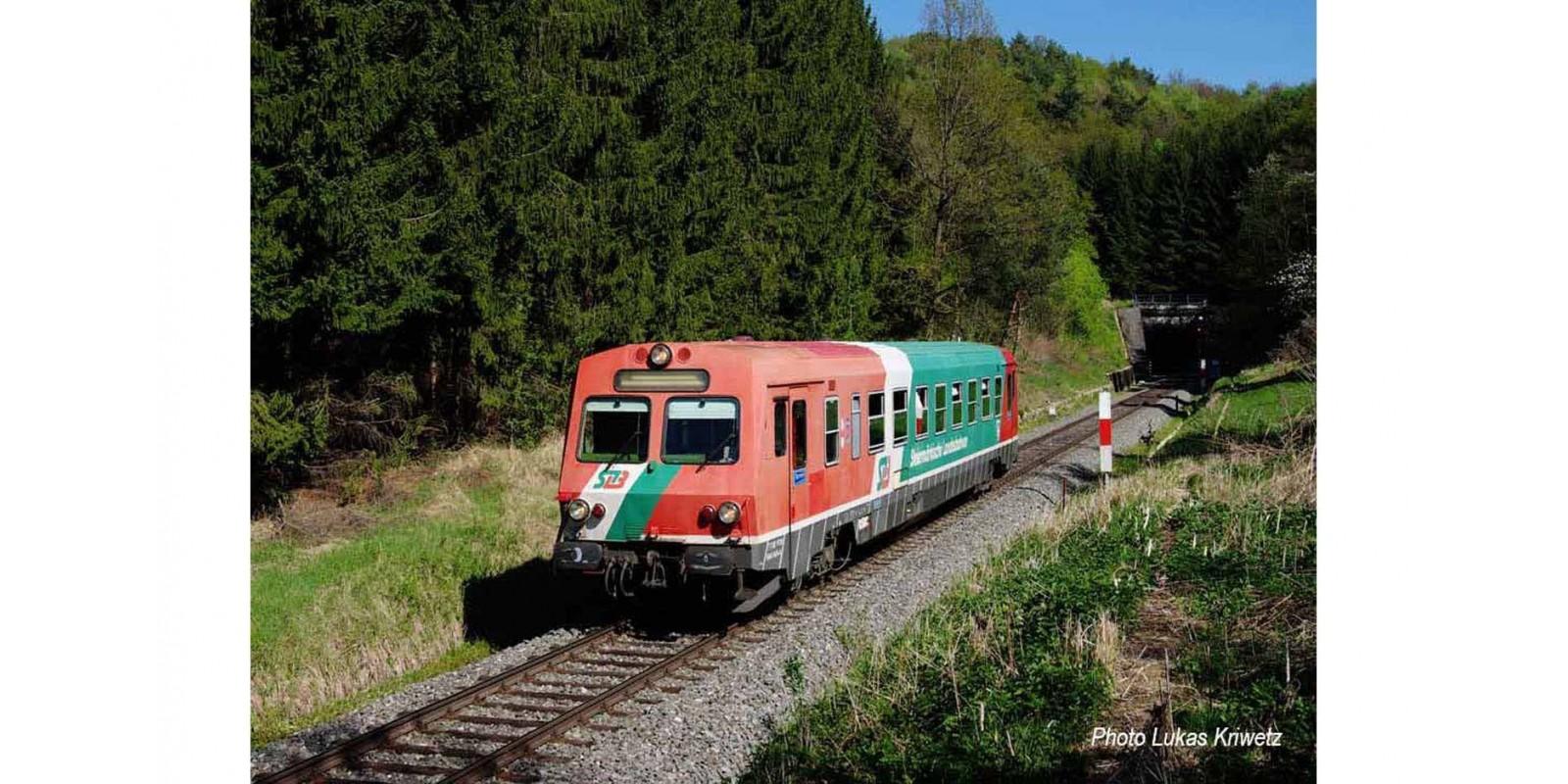 "RI2850ACS diesel railcar class 5047 ""Steiermärkische Landesbahn"", period IV-V, AC Sound"