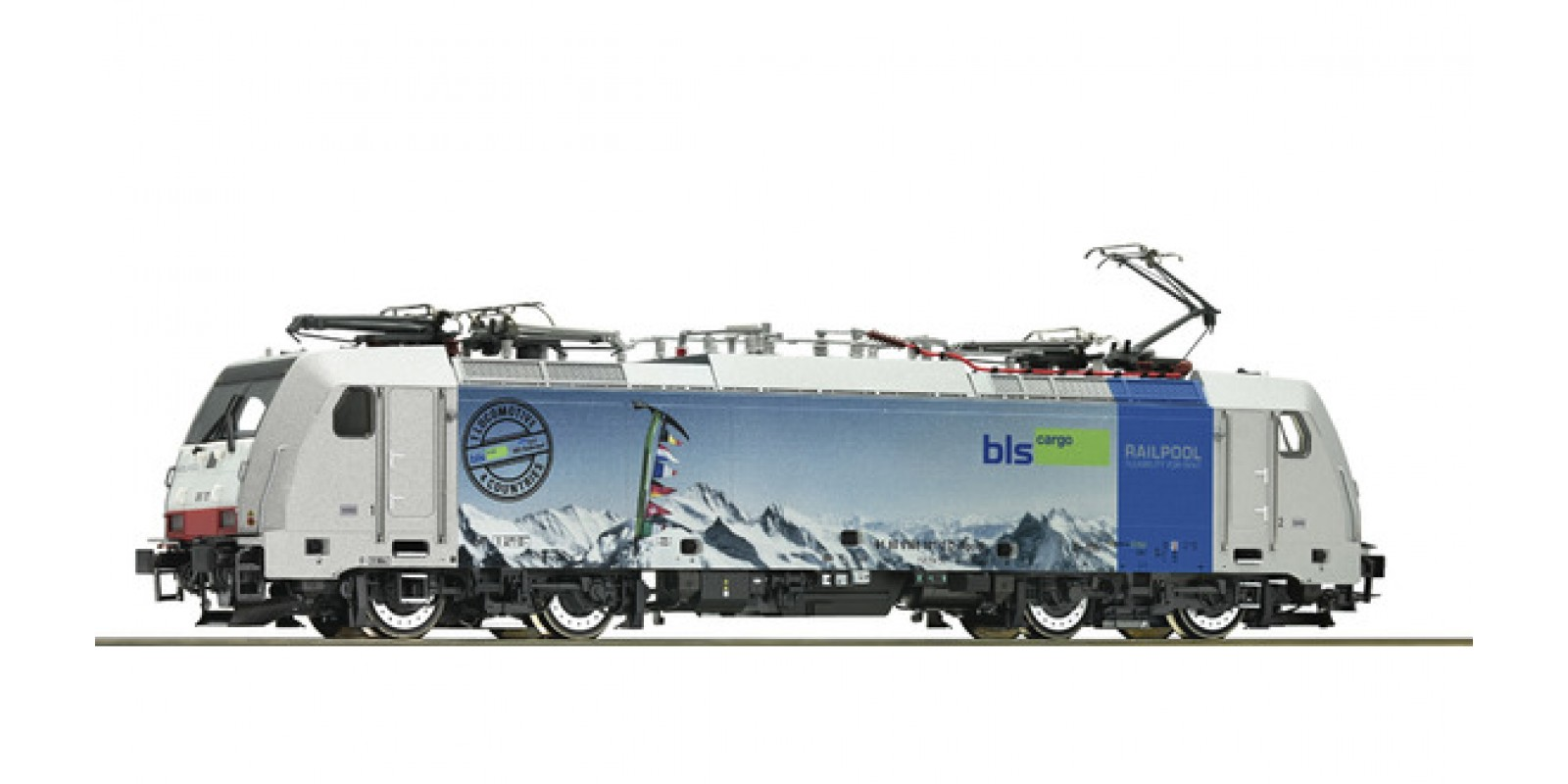 RO79666 - Electric locomotive class 186, Railpool