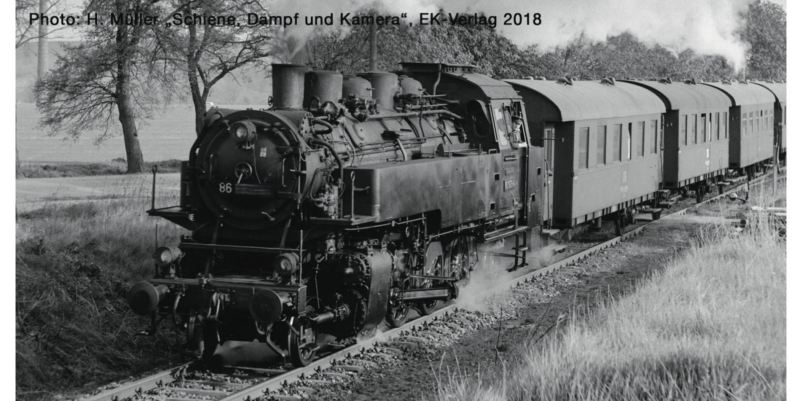 RO73021 - Steam locomotive class 86, DR