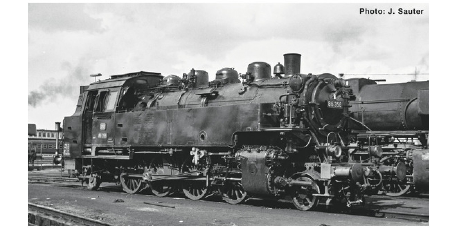 RO73023 Steam locomotive class 86, DB