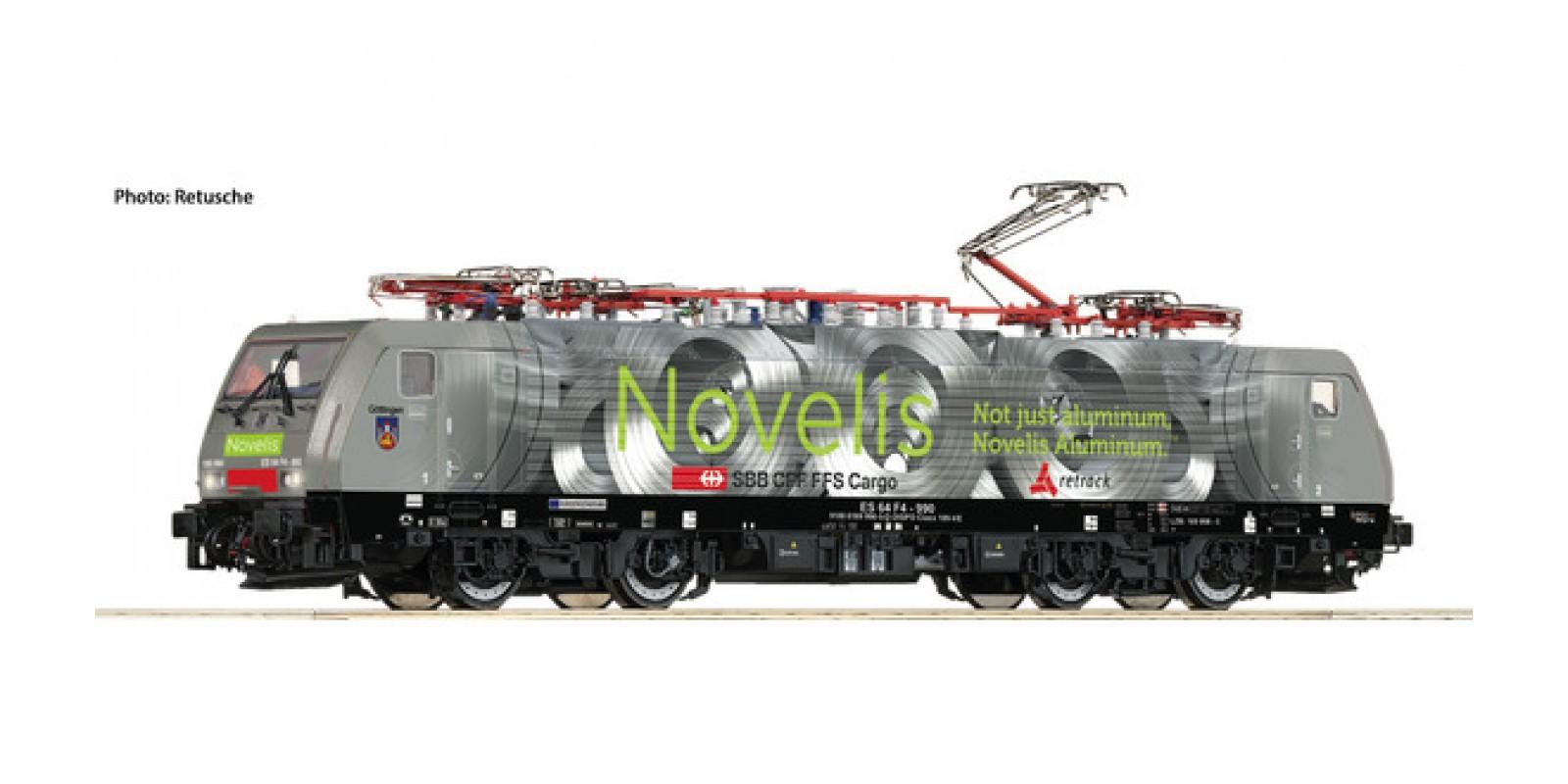 RO73626 - Electric locomotive class 189, MRCE