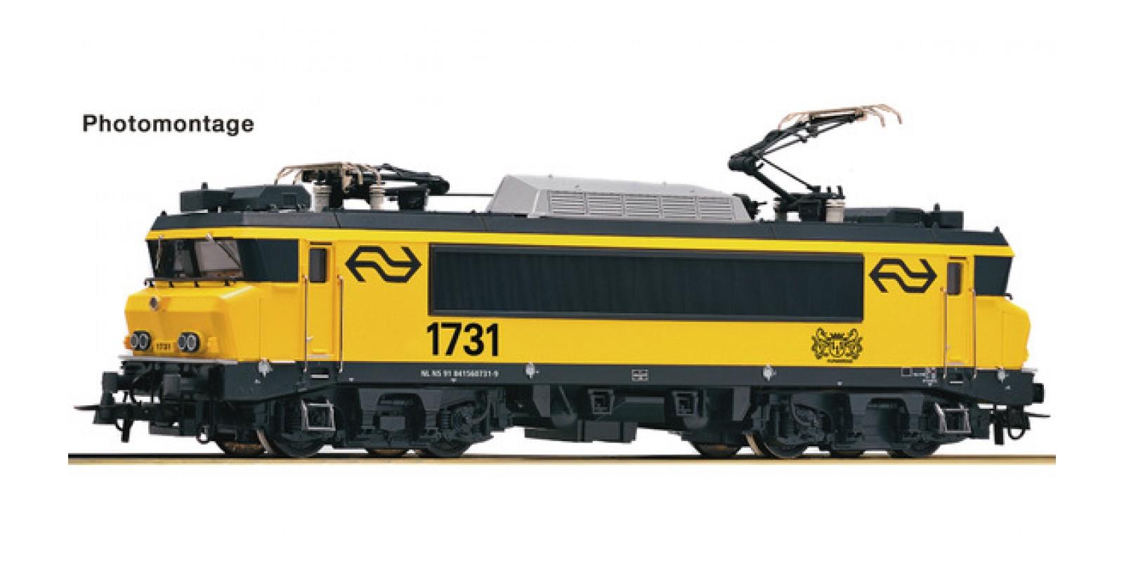 RO79687 - Electric locomotive 1731, NS