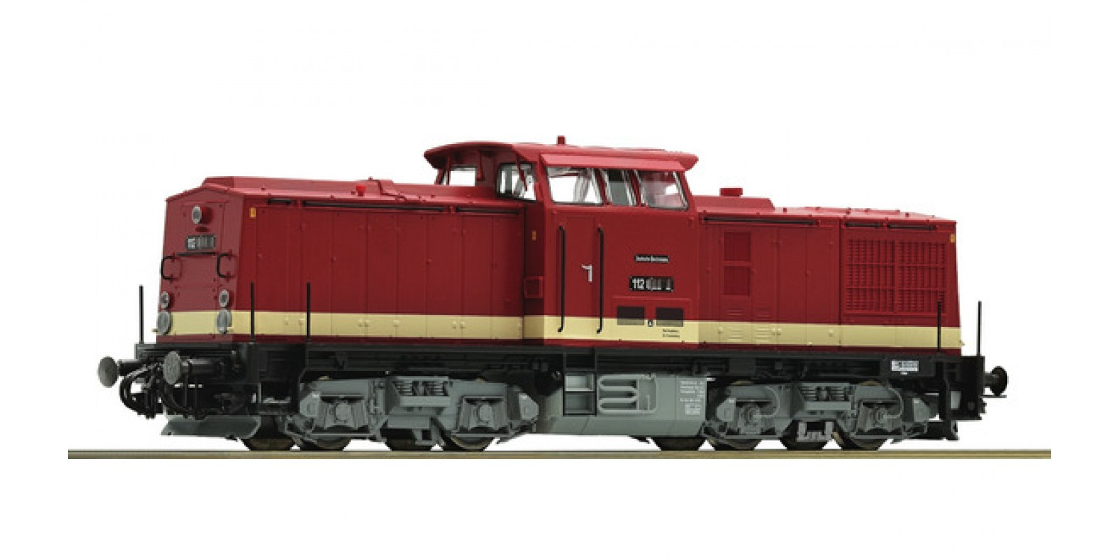 RO79760 - Diesel locomotive class 112, DR