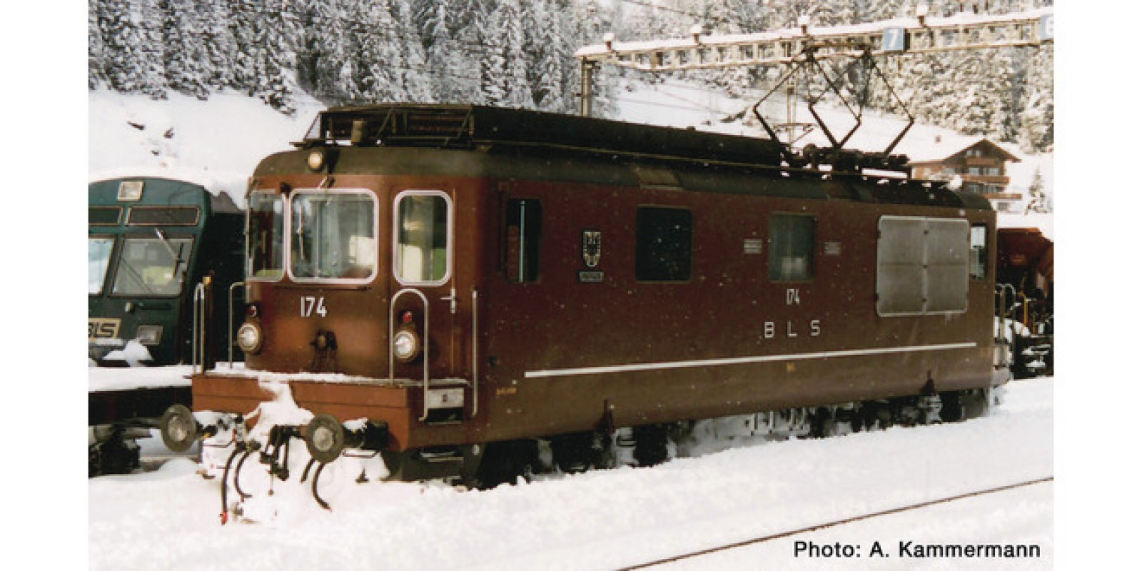 RO79781 - Electric locomotive Re 4/4, BLS