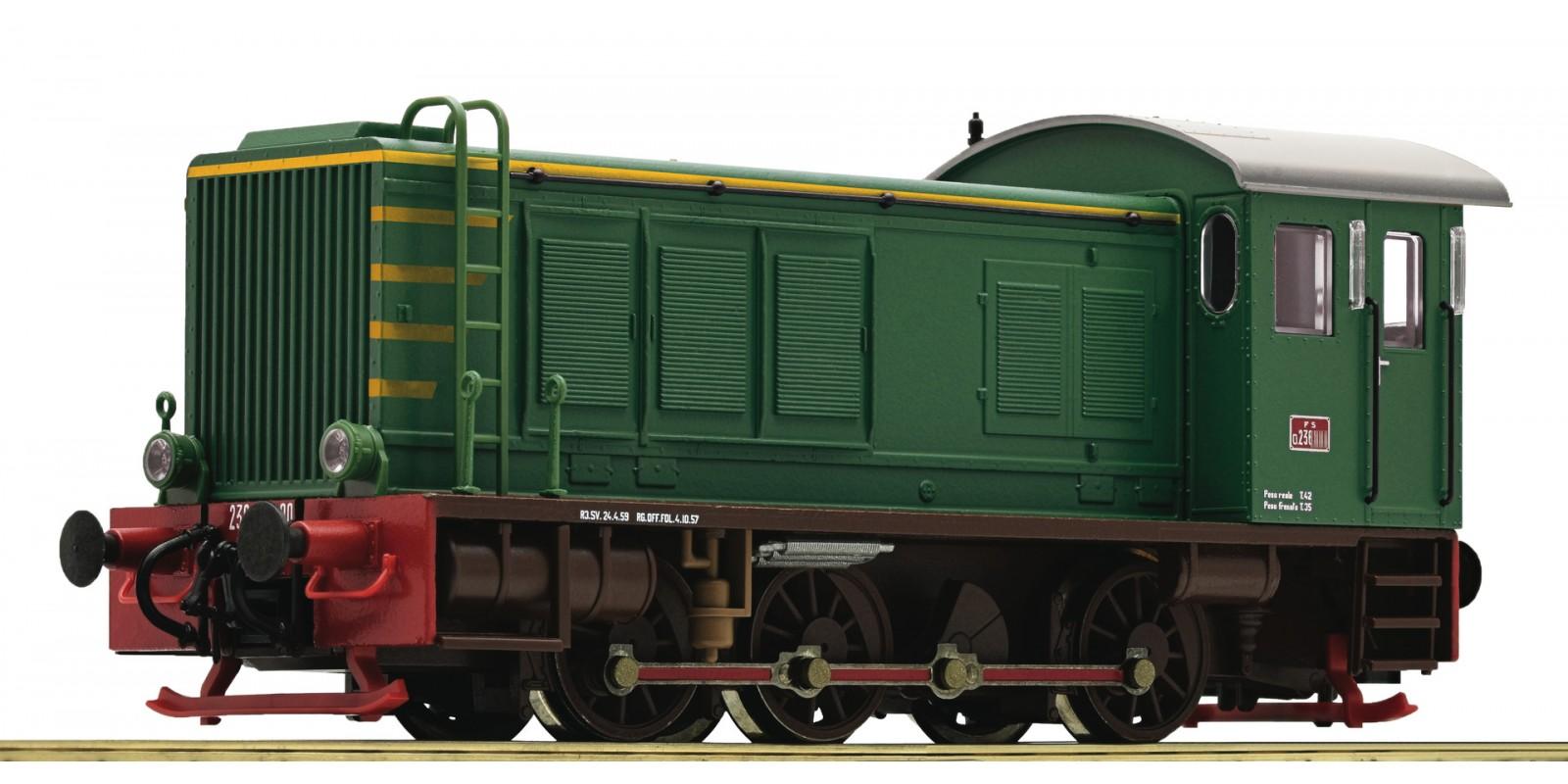 RO72810 - Diesel locomotive D236, FS