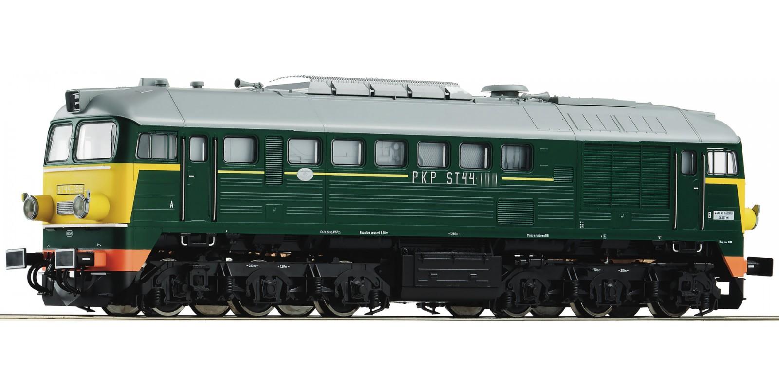 RO72878 - Diesel locomotive ST44, PKP