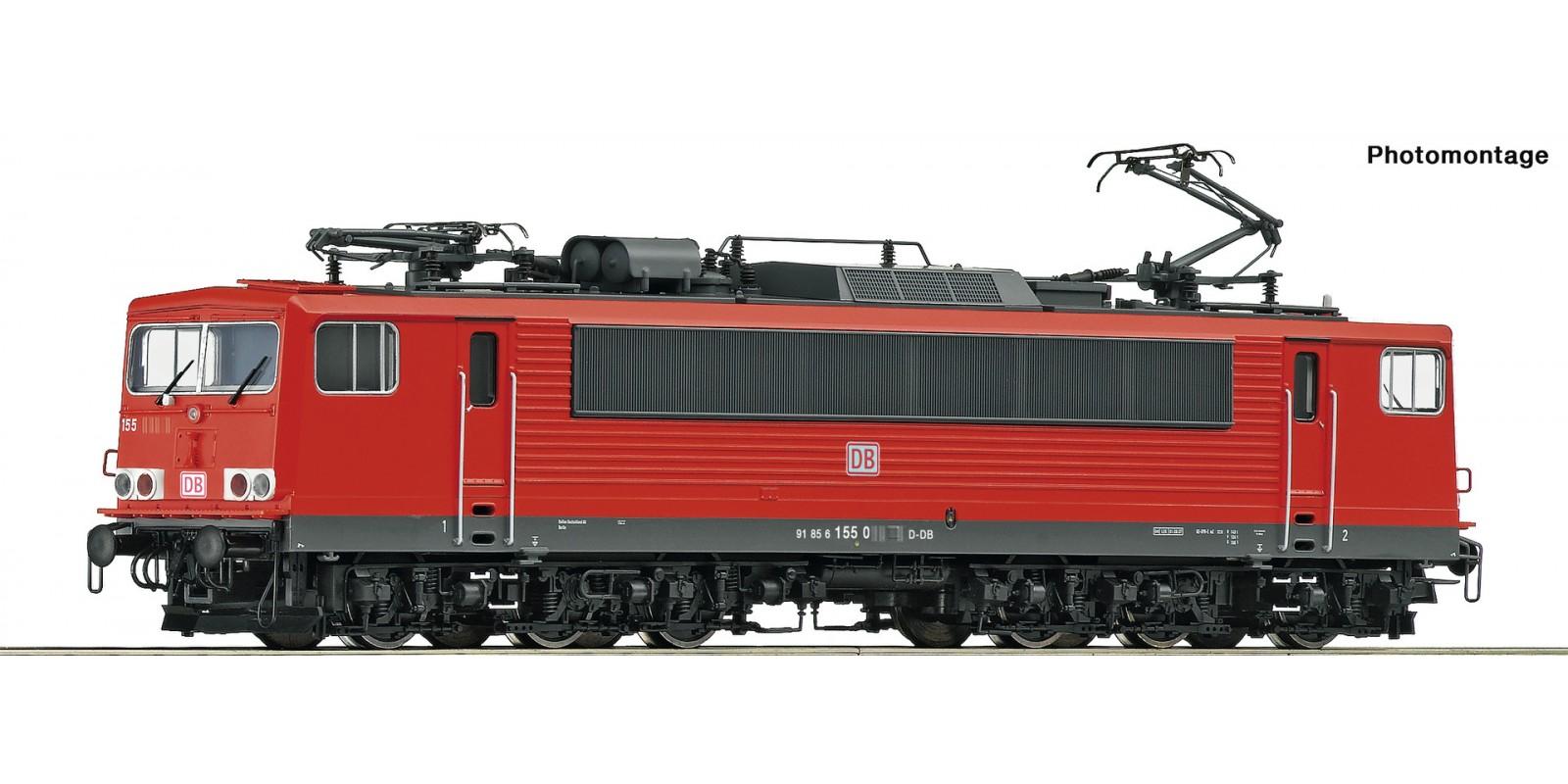 RO73618 - Electric locomotive class 155, DB AG