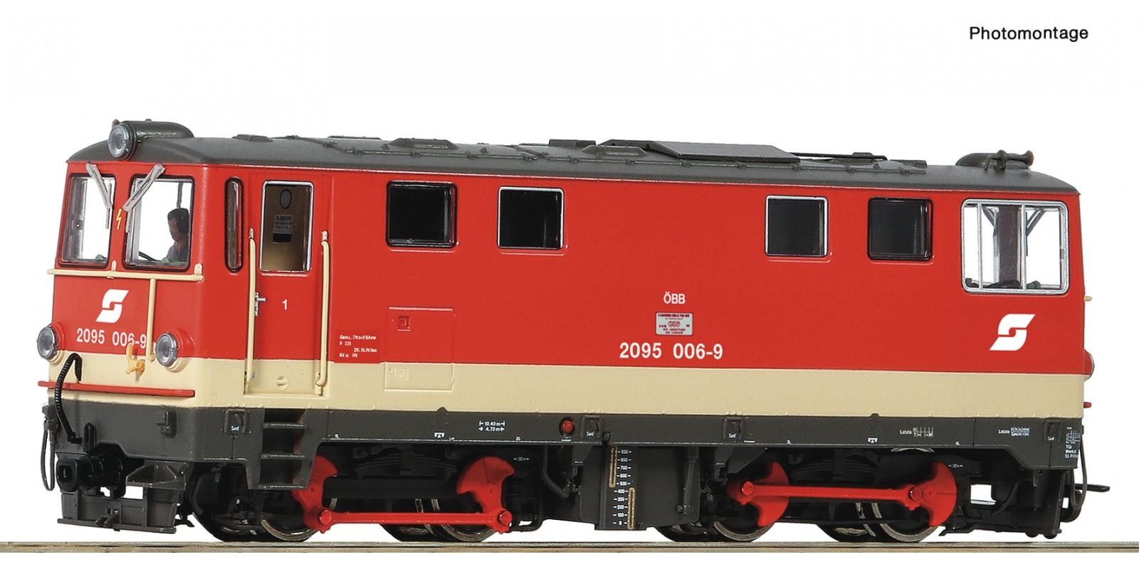 RO33299 - Diesel locomotive 2095 006-9, ÖBB
