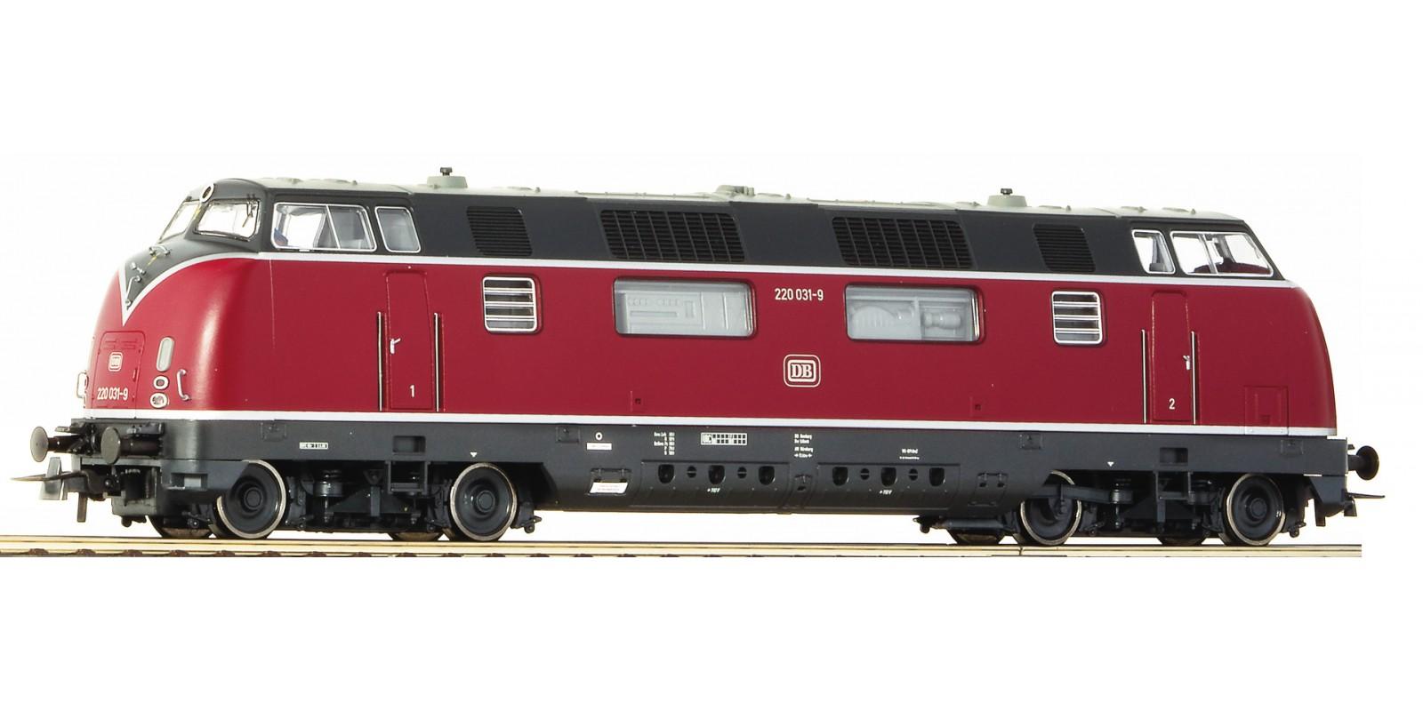 RO58680 - Diesel locomotive 220 036-8, DB