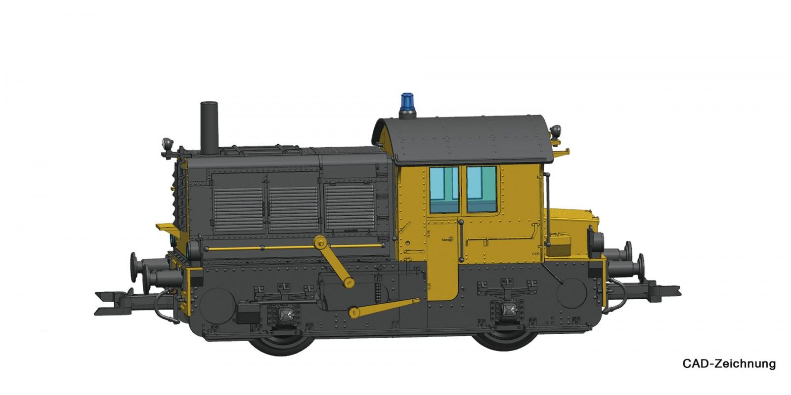 RO72012 - Diesel locomotive Sik, NS