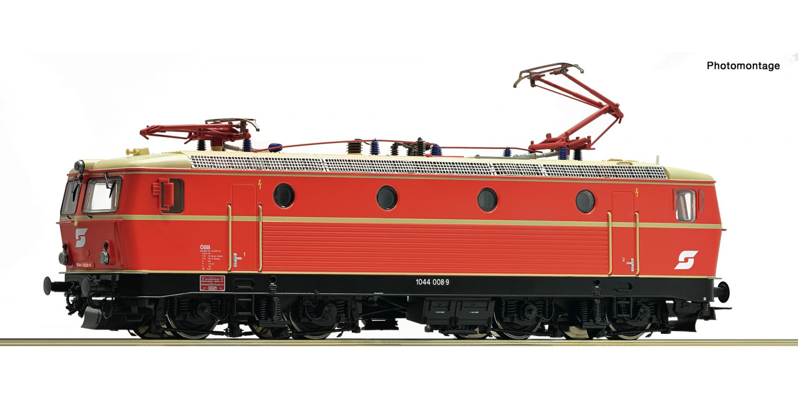 RO73071 - Electric locomotive 1044 008-9, ÖBB