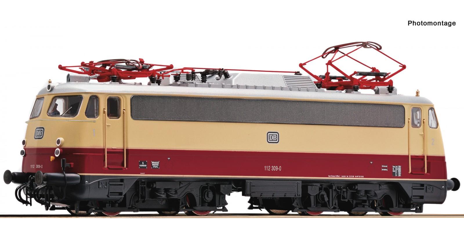 RO73077 - Electric locomotive 112 309-0, DB