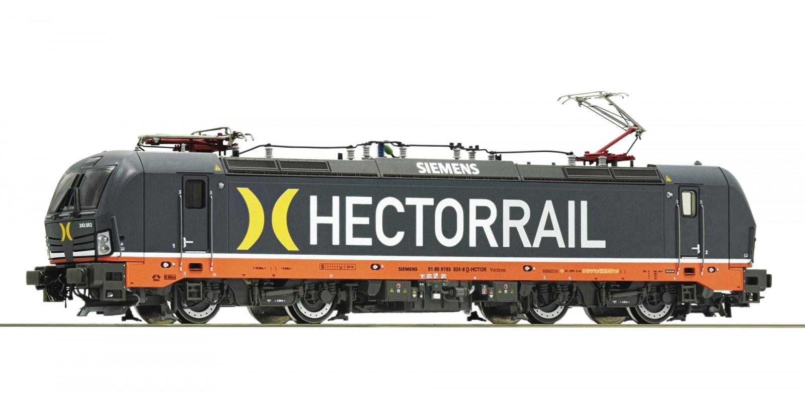 RO73311 - Electric locomotive 243-002, Hectorrail
