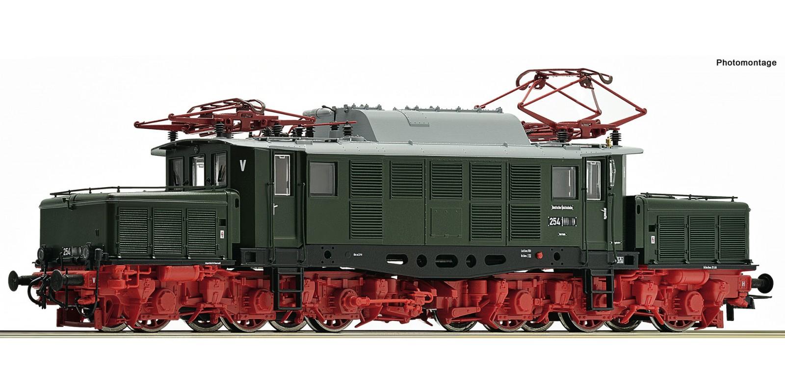 RO73363 - Electric locomotive class 254, DR