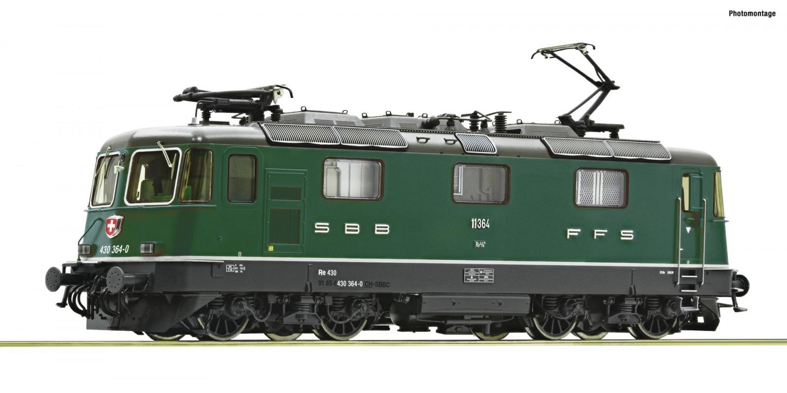 RO71403 E-Lok Re 430 SBB grün