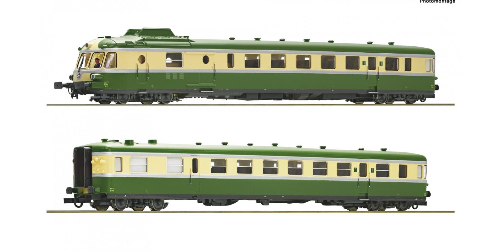 RO73006 Triebzug X2700 grün/beige