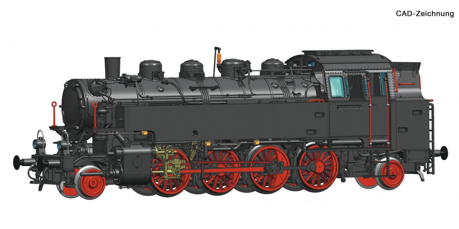 RO73024 Dampflok 86.241 ÖBB