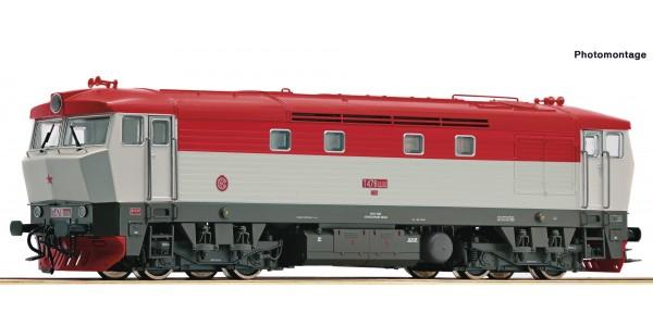 RO73123 Diesellok T478.2 CSD Snd.